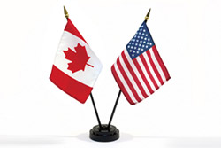 hisotrical polling results united states of canada