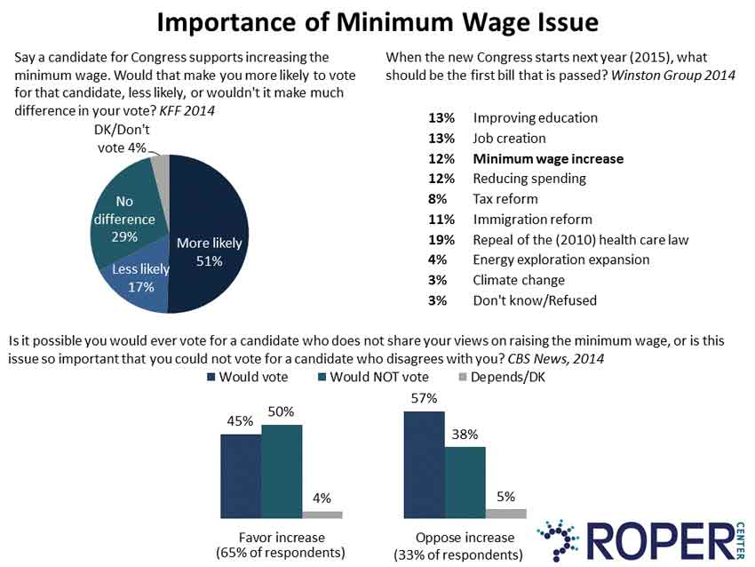 importance of minimum wage to vote