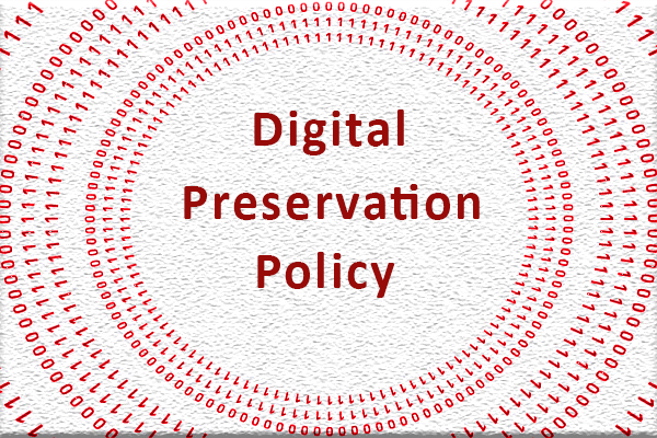 Digital Preservation Policy image