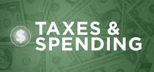taxes and spending image