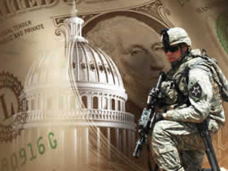 Defense Spending Soldier Money and Capitol Building - questions and datasets