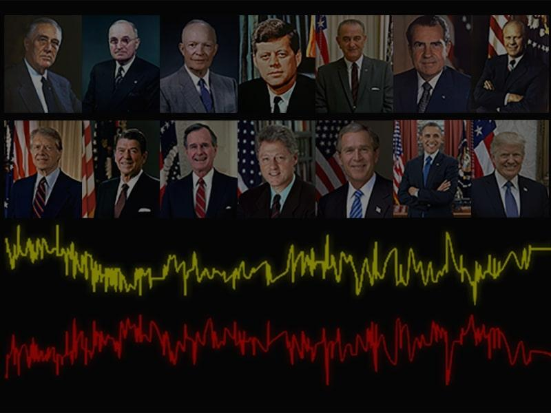 Presidential Approval - side by side images of major party candidates