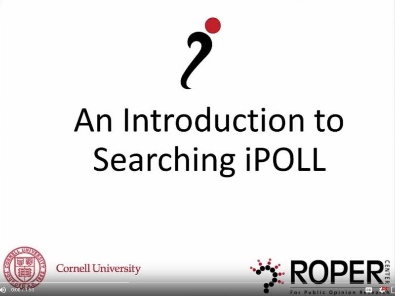 Searching iPOLL