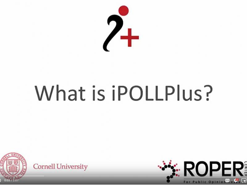 iPOLL Plus Video