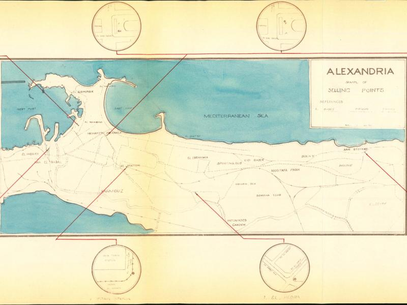 Sample Map-Alexandria Selling Points