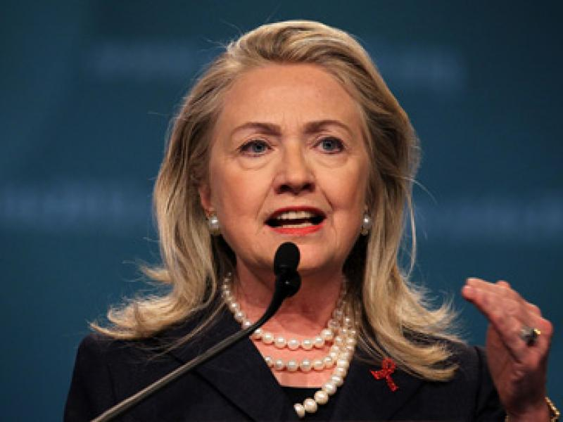 role of women hilllary clinton