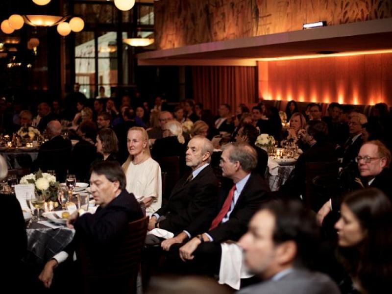 2013 Mitofsky award at Bryant Park Grill