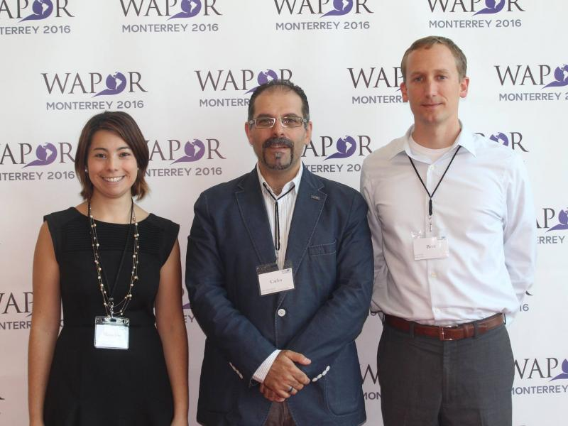 Roper representatives at WAPOR Latin American conference