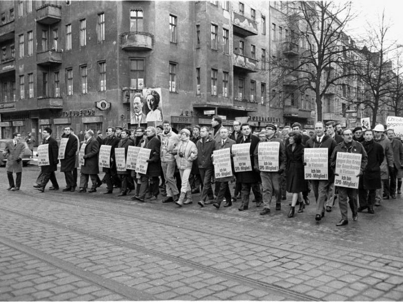 German Protest 1967