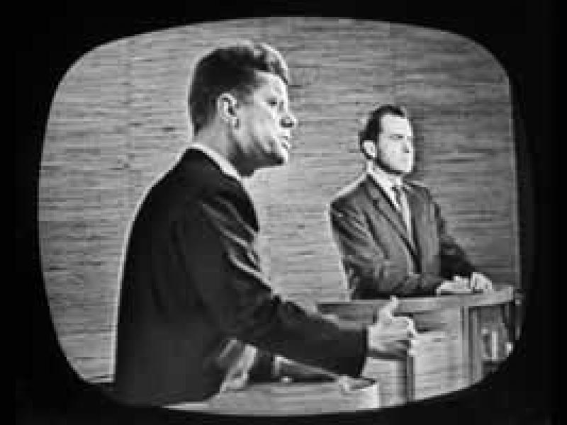 Historic debate of Kennedy and Nixon