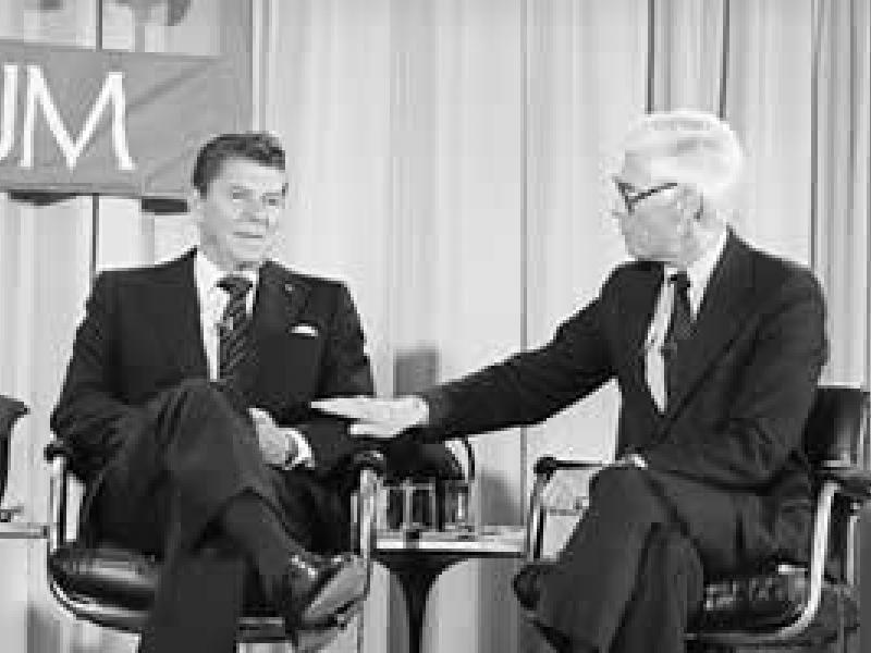 Reagan and Anderson debate