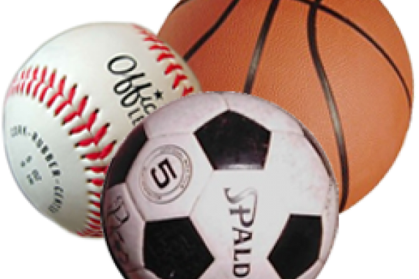 baseball basketball and soccer ball