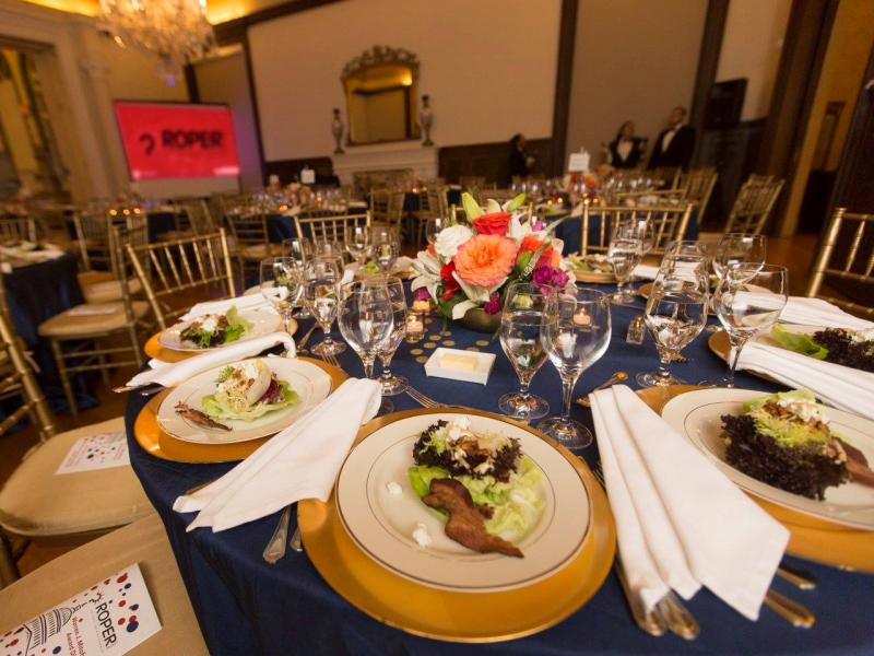 Mitofsky Award Dinner and Table