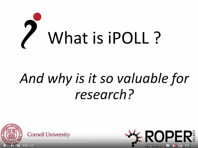A Guide to Using iPOLL
