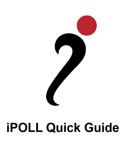 iPOLL quick guide cover